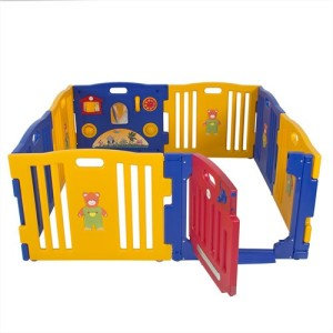 Baby Kids 8 Panel Play Safety Yard