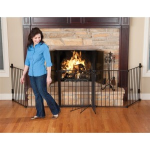 KidCo Auto Close Hearth Gate - Black
