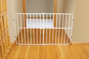 Portable Pressure Mounted Baby Gates Ideal For Travelling