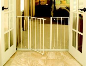 Regalo Easy Open 50 Inch Super Wide Walk Thru Gate
