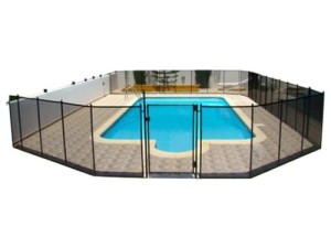 swimming time child safety fence